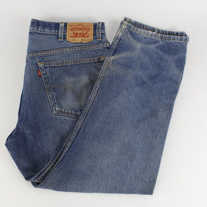 Levi's 505 Mens Jeans 38x29 Distressed